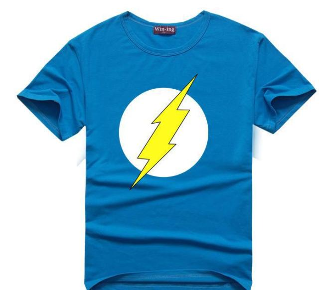 "The Flash- ""Sheldon Lighting"" T-Shirt"
