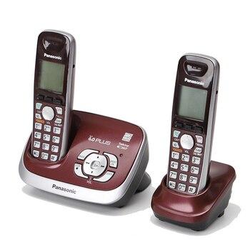 Dect6.0 беспроводные телефоны с системой ответа на звонки, внутренний домофон, домашний стационарный телефон, бизнес телефон для отеля, красны...