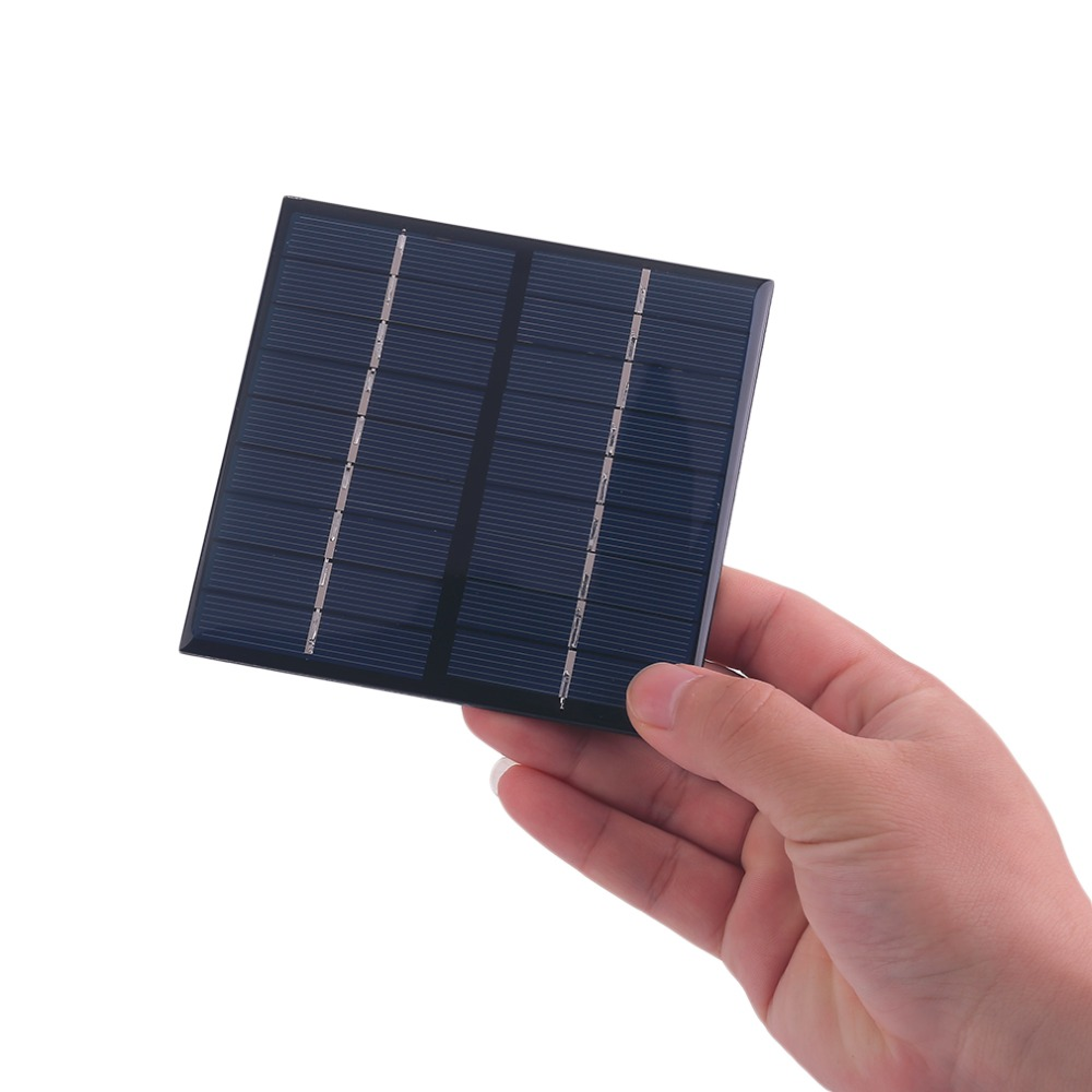 Professional 9V 2W 200Mah Solar Panel Module System Solar Energy Power Charger For Battery Mobile Phone Charger