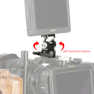 Image 4 - NICEYRIG DSLR Camera Field Monitor Holder Mount with NATO Lock Clamp For 5 inch or 7 inch monitor