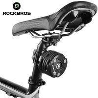 Rockbros دراجة مكافحة سرقة قفل سلسلة قفل لطي هامبورغ نمط دراجة الدراجات عالية الجودة مكافحة سرقة قفل 4 الألوان