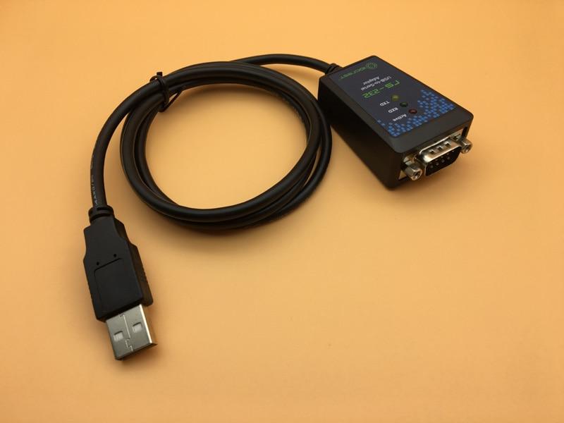 USB к последовательному кабелю 100 см DB9 Pin COM Port промышленный конвертер FTDI чип USB 2,0 к адаптеру RS232