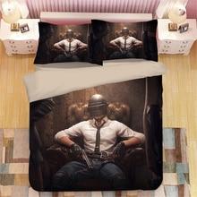 PLAYERUNKNOWNS BATTLEGROUNDS 3D Bedding Set Duvet Covers Pillowcases PUBG Comforter Sets Bedclothes Bed Linen
