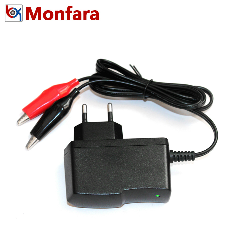 Hot Car Motorcycle 12V 1A Battery Charger Auto Truck Charging Adapter Black