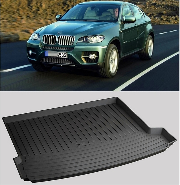 High Quality Special Trunk Mats For Bmw X6 F16 2016 2014 Waterproof