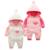 2017 gêmeos de moda eu amo papai mamãe bebê roupas, primeiro aniversário do presente do bebê de algodão branco e rosa bebes roupa infantil menina