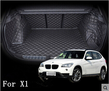 Good quality & Perfect match! Special trunk mats for BMW X1 2015 waterproof durable tail mats for BMW X1 2014 2010,Free shipping