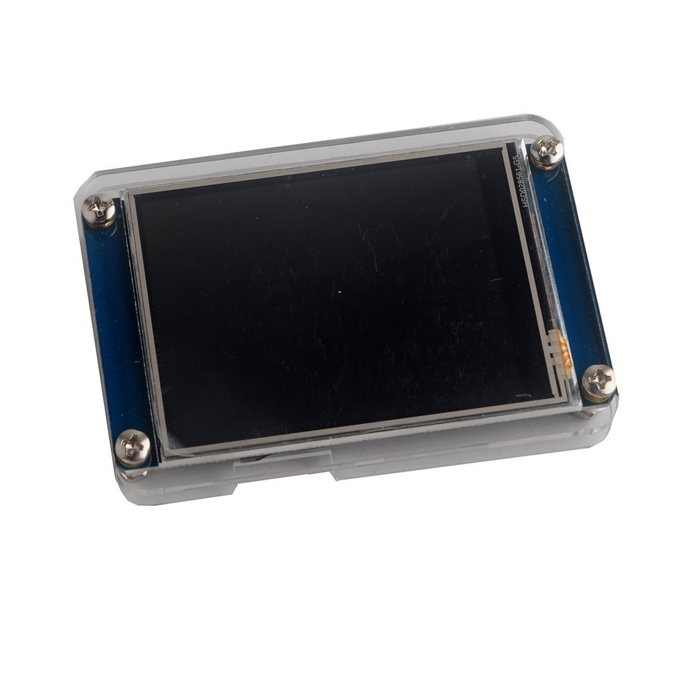 Nextion 2.8 inch HMI LCD Touch Display Screen Module NX3224T028 +Transparent Clear Case for Arduino Raspberry Pi Basic Version