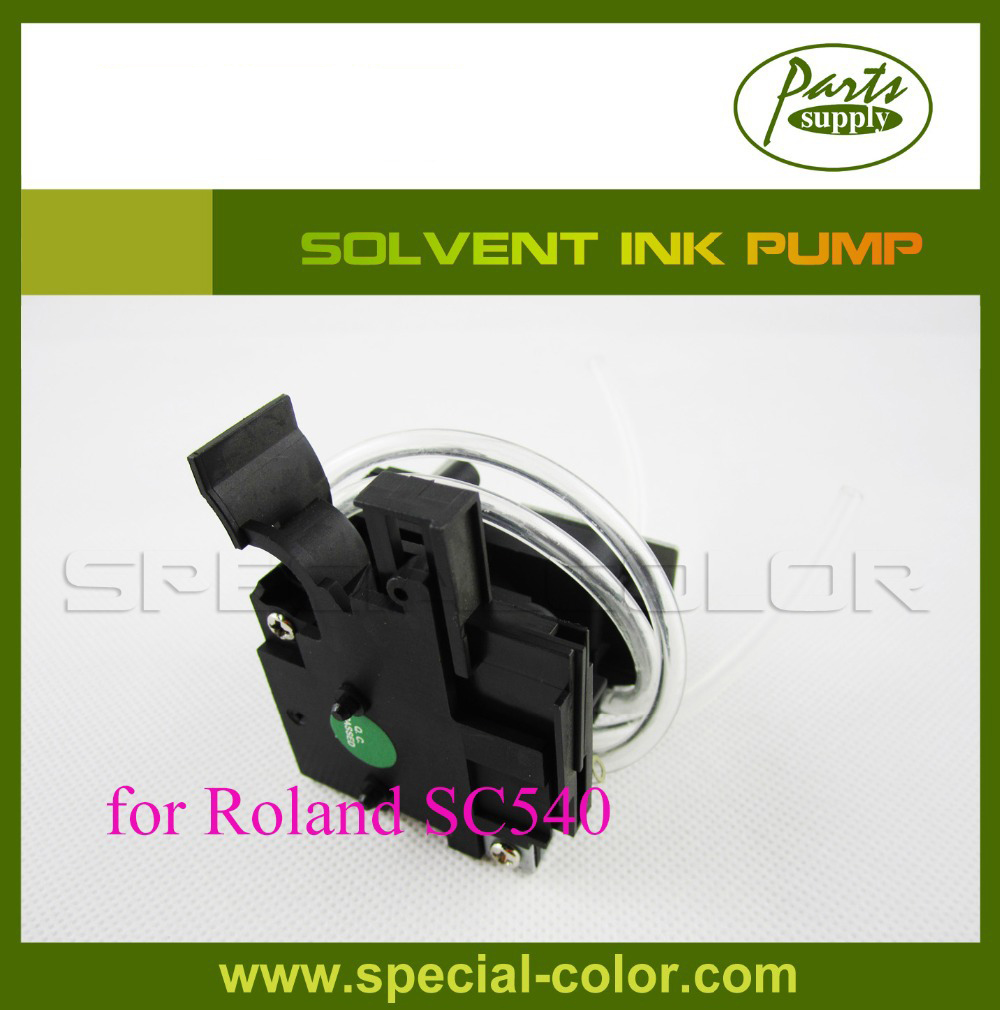 HQ !! Roland SC540 solvent ink pump (Solvent Printer Spare Parts) fast shipping eco solvent printer spare parts roland vp540 xj640 xc540 rs640 u shape ink pump 2pcs lot for selling