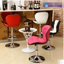 Chair lift bar stool bar chairs minimalist fashion European bar stool reception