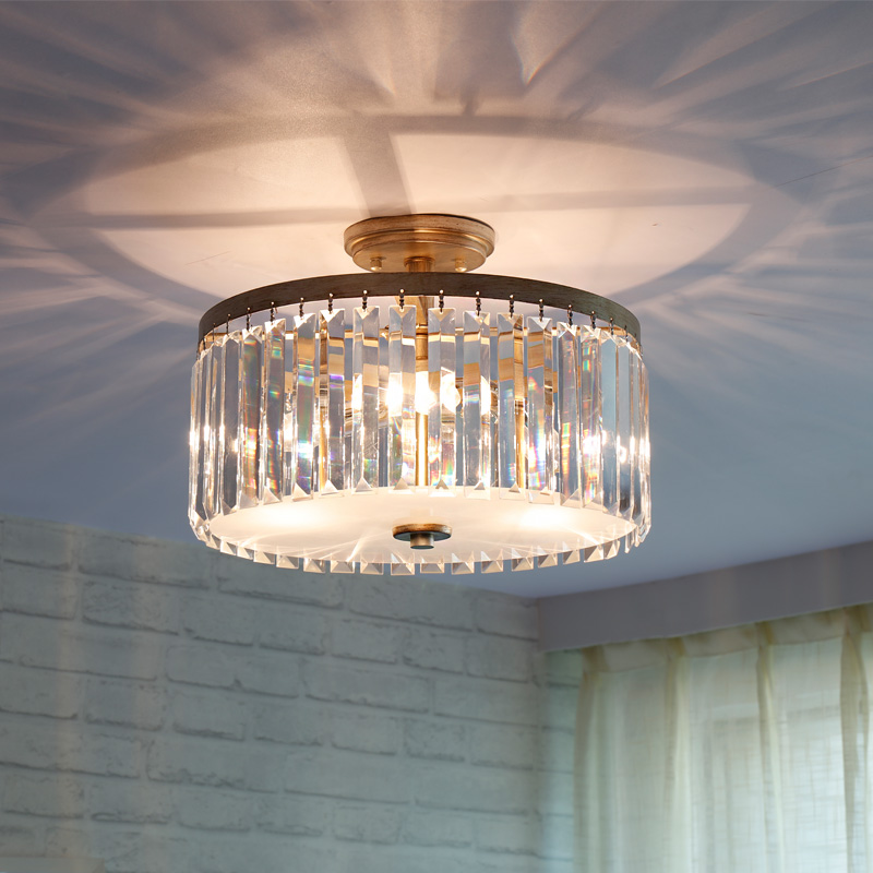 Luxury Crystal Ceiling Lights surface Mounted crystal ceiling light K9 Living room bedroom lighting Modern crystal ceiling lamp luxury big crystal modern ceiling light lamp lighting fixture
