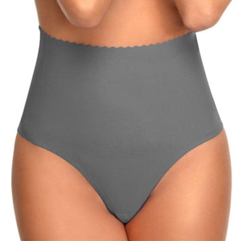 Ультратонкие женские бесшовные трусики с высокой талией для ухода за животом, коррекции фигуры, похудения, S/M/L/XL