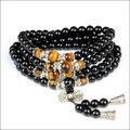 Natural Obsidian Jade Bracelet Multi-layer Male Women Lucky Bracelets