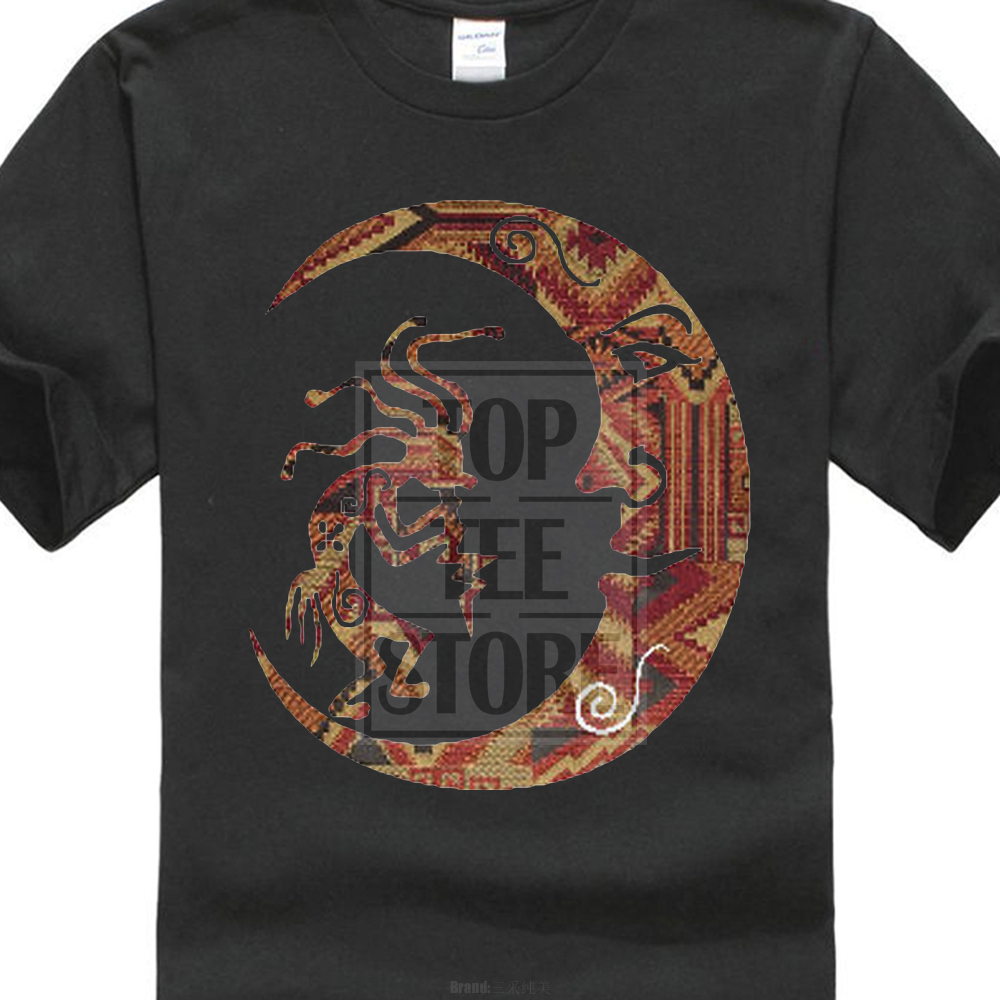 fashion design New Kokopelli Sun T Shirt Indian Native American Dance Southwest Flute Shirt Design T Shirt Popular Tops
