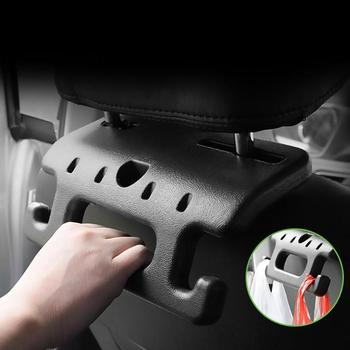 Zagłówek fotela samochodowego wieszak poręcz poręcz bezpieczeństwa fotelik samochodowy tylne haczyki