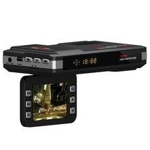 Nueva 2 en 1 Coche DVR del Vehículo de La Cámara Cámara de Vídeo detector de Radar de Velocidad Láser grabador Dash Cam Videocámara Registrator Noche visión #
