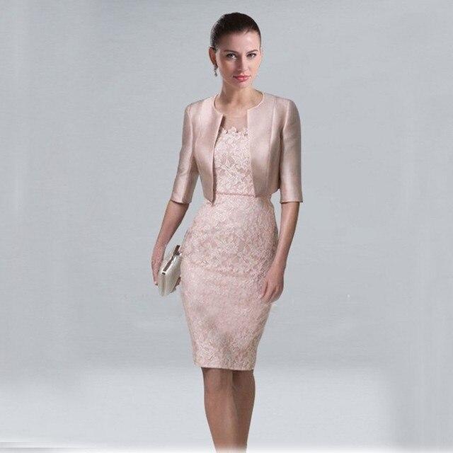 Cortos Vestidos 2017 Corto Elegante Madre de la Novia