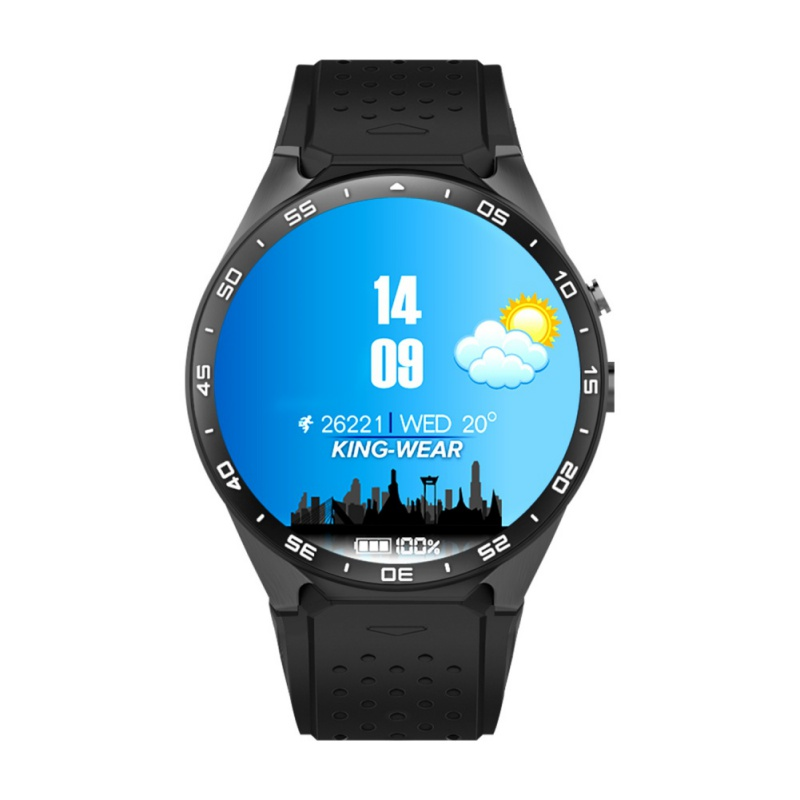KW88 Smart watch Android 5.1 OS MTK6580 CPU 1.39 inch Screen 2.0MP camera 3G WIFI GPS smartwatch for Apple Android smart baby watch q60s детские часы с gps голубые