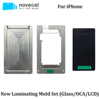 2pcs Set OCA LCD Glass Alignment Positioning Laminating Mould Vacuum Laminator Universal Molds For IPhone 8G