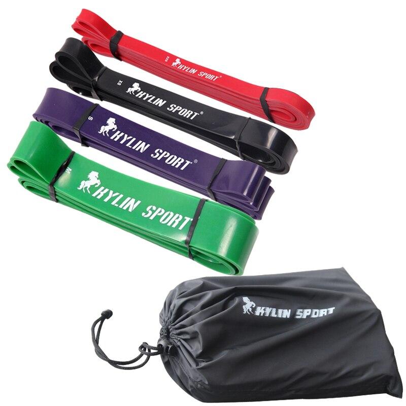 Набор из 4 Pull Up Bands натуральный латекс 41 прочность лента-эспандер Фитнес Crossfit мощность подъема укрепить мышцы