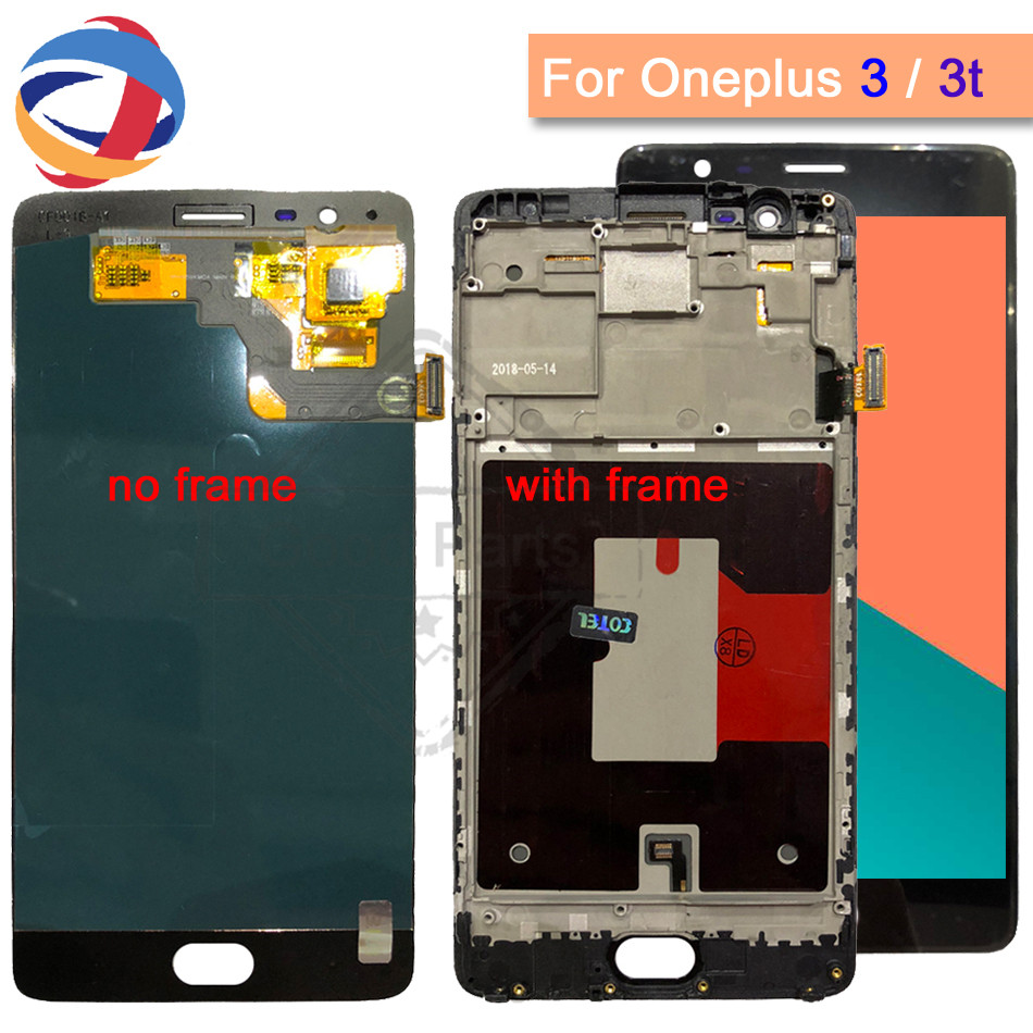 5.5Oneplus 3 Lcd Screen Oneplus three 3T Display Screen Tested Screen With Frame Replacement For Oneplus 3T A3010 A3000 A30035.5Oneplus 3 Lcd Screen Oneplus three 3T Display Screen Tested Screen With Frame Replacement For Oneplus 3T A3010 A3000 A3003