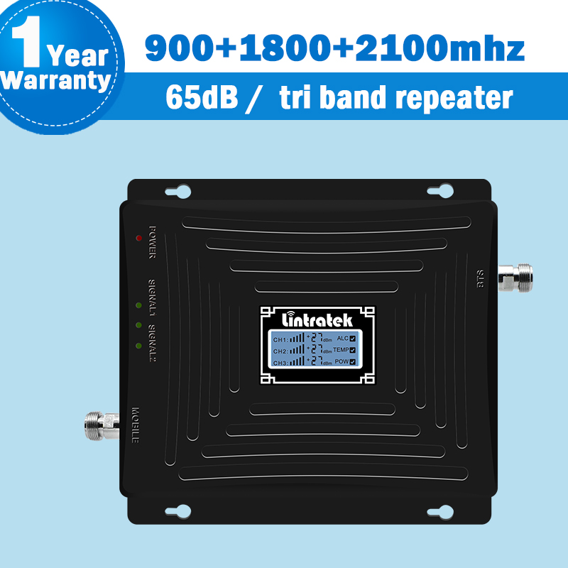 19l-gdw 4g repeater tri band 900 1800 2100 mhz gsm repeater phone cellular booster 4g signal booster ALC gd900 repetidor 1800 54