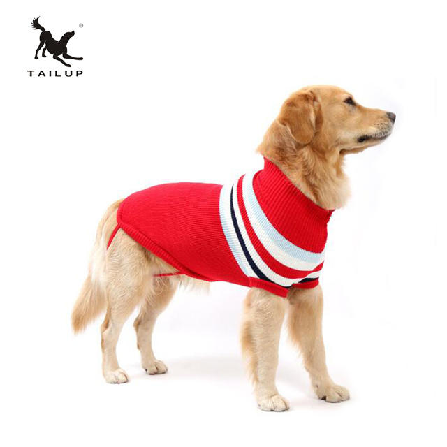 Tailup Autumn Clothes For Dogs Four Legs Knit Pet Sweater Large