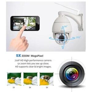 Image 2 - Sricam SP008B 720P Outdoor Ip Camera 5X Digitale Zoom Waterdichte Wifi Cam Alarm Push 2 Weg Audio Draadloze dome Beveiliging Cctv Ptz