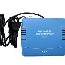Телевизионная система ТВ-сигнал Стандартный аудио-видео преобразователь сигнала AV в RF модулятор tv 220V EU Plug