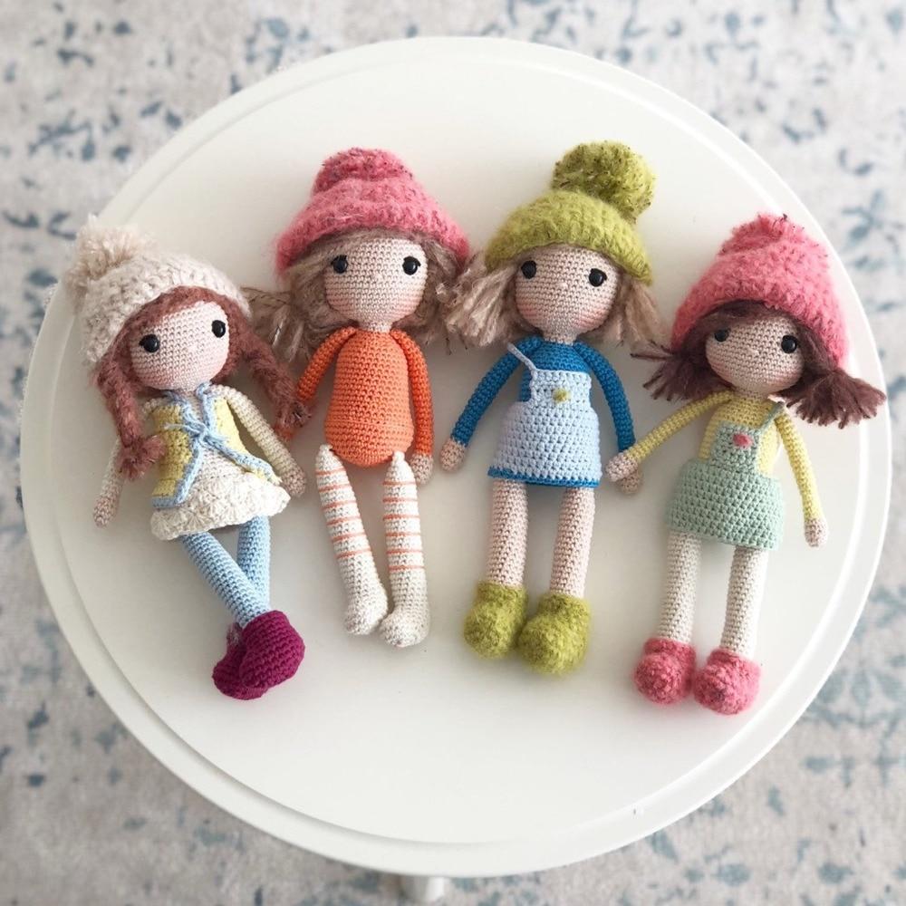 Amigurumi Pattern- Momo- English Doll Pattern - Crochet Pattern - Amigurumi Doll - Winter Doll Pattern - Crochet Doll - Crochet Toy