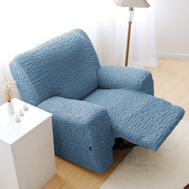 Qualidade de cor sólida quatro estações geral elástico slip-resistente sofá bordado terrella para regal personalizar tampa do sofá