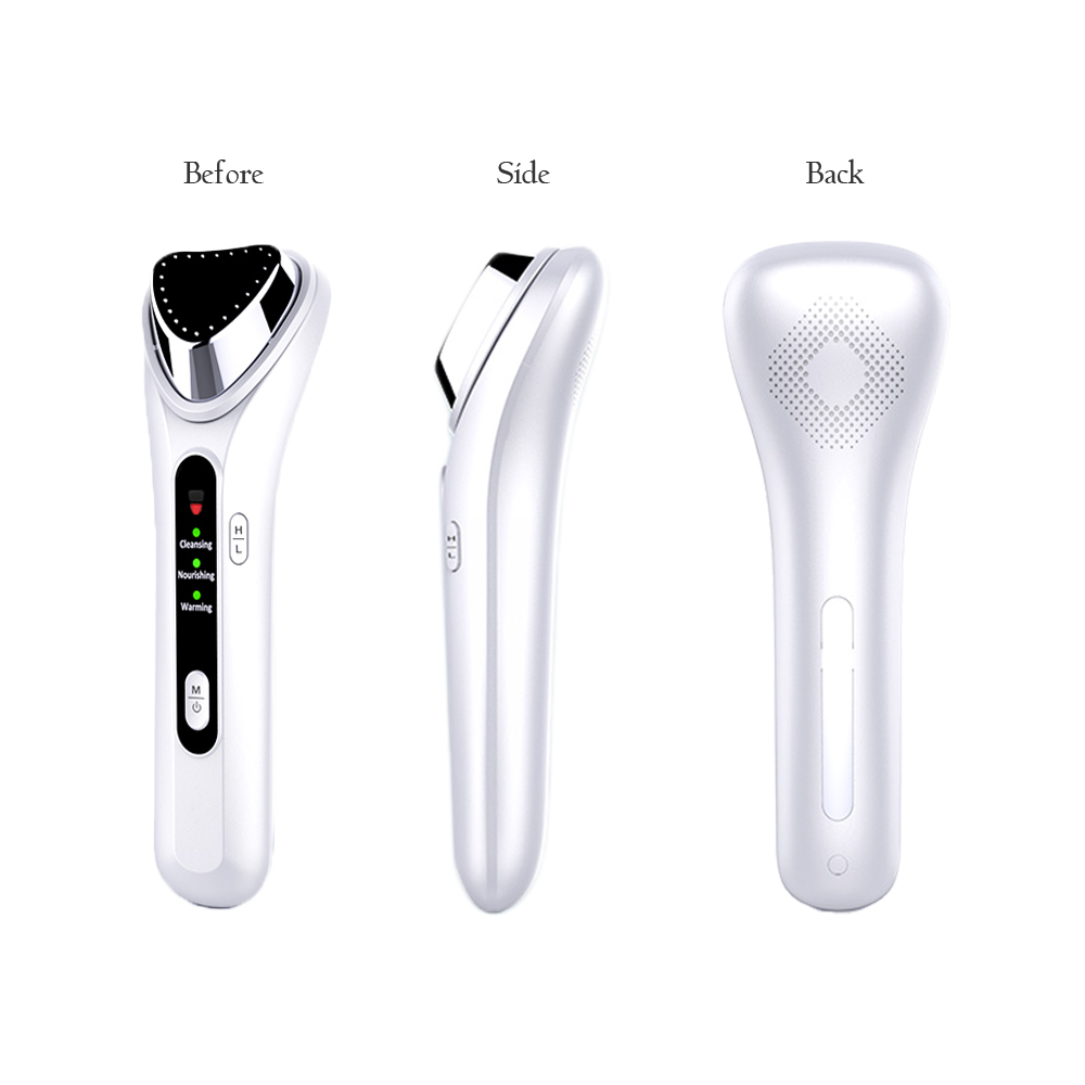 Купить с кэшбэком Galvanic Ion Introduction Beauty Device Face Cleansing Massage Pore Cleaning Fine Wrinkle Reduction Thermal Care Acne Therapy