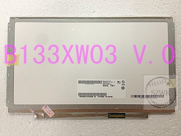 ФОТО Free shipping 13.3 inch LED screen Slim N133BGE-L31&N133BGE-L41&N133B6-L24&B133XW01 V.0&B133XW03 V.0