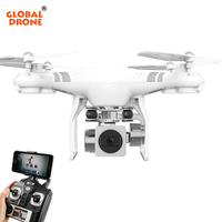Global Drone RC Dron Remote Control Drone With Camera HD RC Quadcopter Dron Altitude Hold VS SYMA X5SW X5C