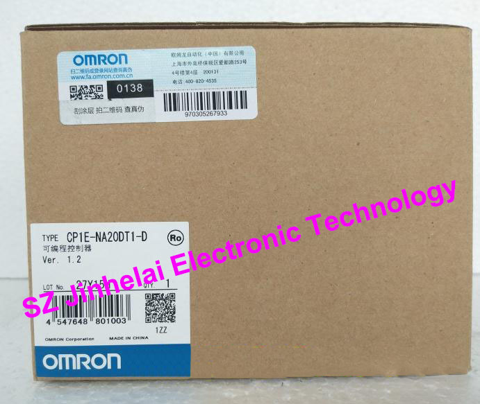 New and original CP1E-NA20DT1-D  OMRON PLC CONTROLLER cp1e n40dr d new and original omron plc controller