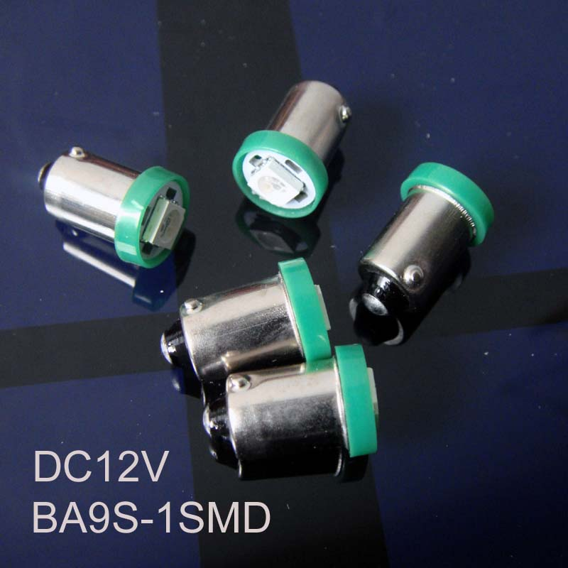 High quality 12V BA9S led car instrument light,BA9S auto LED indicating lamp 12V led BA9S pilot bulb free shipping 1000pcs/lot