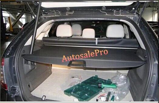 NewRear Tronc Sécurité Shade Trappe Noir Cache-bagages Ombre Shieldfor Ford Edge 2011 2012 2013 seulement