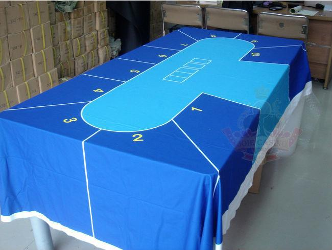 WP 003 Professional Water Resistant Poker Table Cloth, Casino Layout Game  Cloth 1PC(