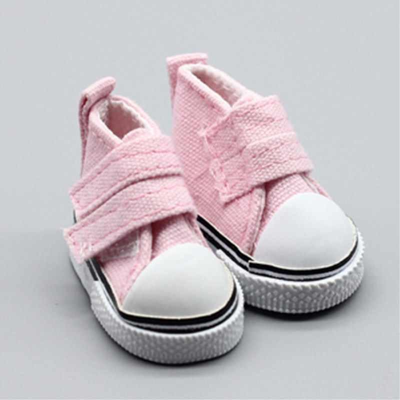 5 см-7,5 см кукольная обувь с двойной пряжкой джинсовая Повседневная парусиновая обувь для 1/6 ручная работа детали для самостоятельной сборки кукол обучающая игрушка для детей