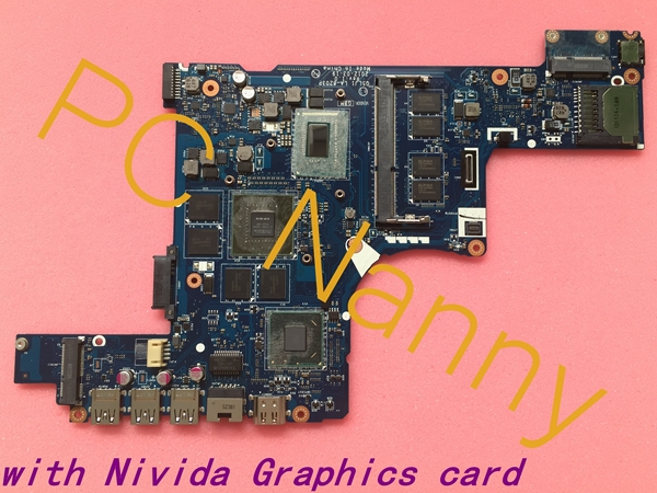 NBM2G11001 Q5LJ1 LA-8203P Laptop motherboard For Acer Aspire M5-581G Intel i5 3317U CPU NVIDIA GeForce GT 640M 1GB Tested