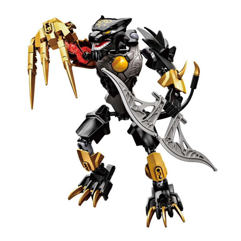 2017 New XSZ 815-3 Bionicle Robot DIY kids boys Building Block Toys gifts Action Figure Compatible With   Chimo lego bionicle 71309 онуа объединитель земли