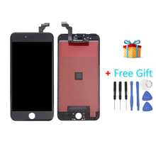 iPartsBuy 3 in 1 for iPhone Top Quality 6 Plus ( LCD + Frame + Touch Pad + Free Gift ) Screen Digitizer Assembly