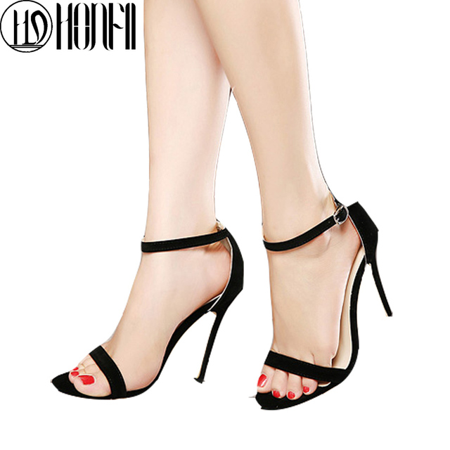 3e4023d4b85ed6 Sale top Summer Time Women Fashion Sandals buckle strap Thin heel all match  Pumps New Design Casual Style hot Sales sexty Shoes
