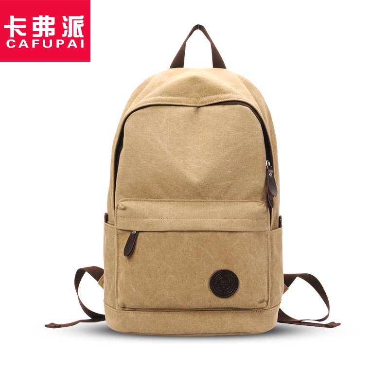 Fashion Preppy Style Canvas students School backpack Large Capacity Korean Style men's travel bags  leisure Shoulder bag oxford bag korean version of the female students shoulder bag large capacity backpack canvas backpacks