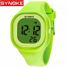 Sport Women Men Watch Stop Watch Timer LED Black Light  Digital Wrist Watches 30M Waterproof Alarm Clock