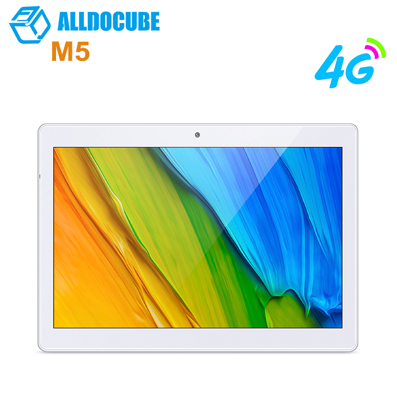 ALLDOCUBE M5 4G Phablet 10.1 Android 8.0 Tablet PC MT6797 (X20) Deca Core 4GB+64GB 5MP Tablets Dual WiFi Dual Camera BluetoothALLDOCUBE M5 4G Phablet 10.1 Android 8.0 Tablet PC MT6797 (X20) Deca Core 4GB+64GB 5MP Tablets Dual WiFi Dual Camera Bluetooth