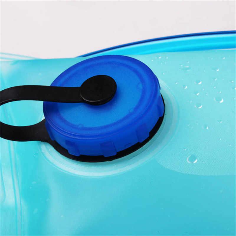Bolsa de agua de 2L TPU, bolsas de hidratación de la vejiga de agua, hidrador para bolsa de botella de agua suave, bolsa de bebida para camping ciclismo correr