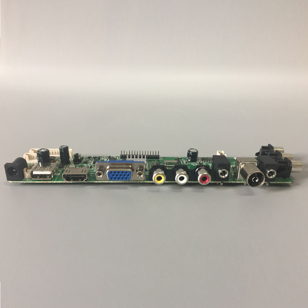 DS D3663LUA A81 2 PA V56 V59 Universal LCD Driver Board Support DVB-T2 TV  Board+7 Key Switch+IR+1 Lamp Inverter+LVDS 3663