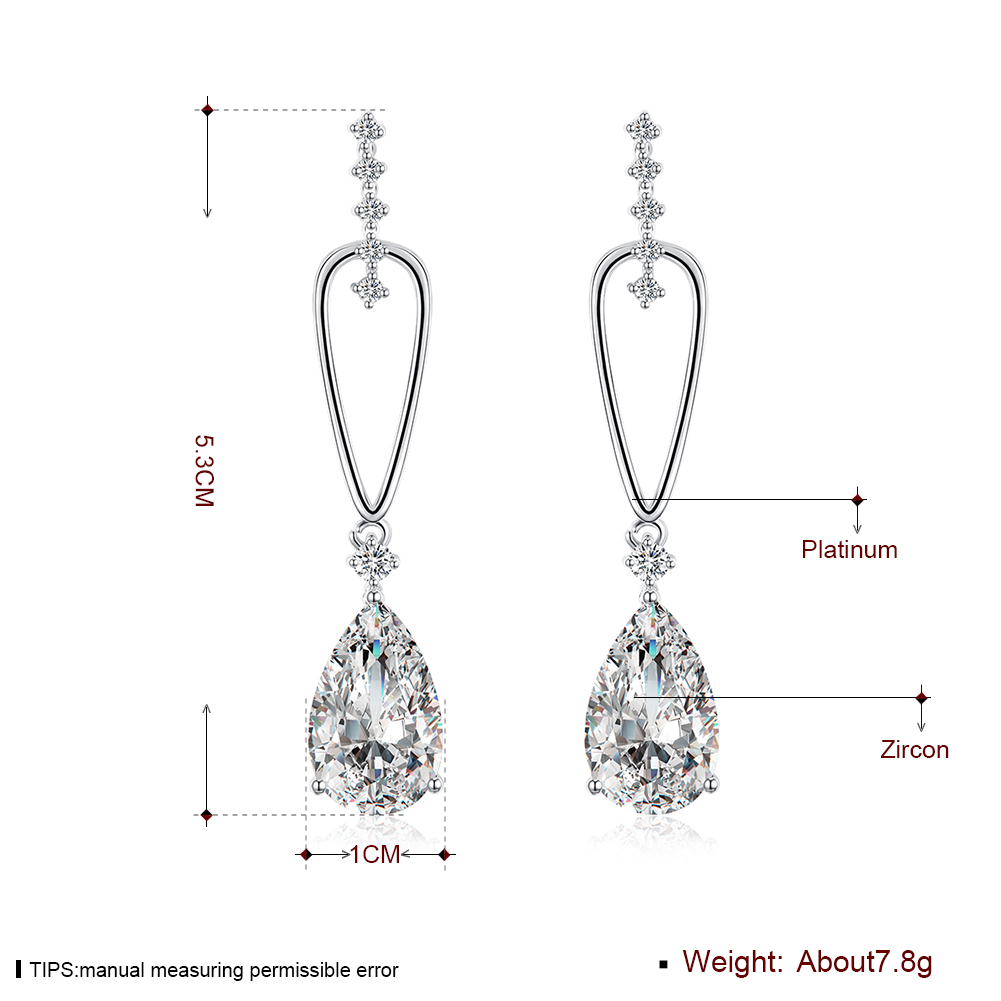 Jewelry Accessories Korean Earrings C Plated KZCE148-C Fashion popular ear clip KZCE148- ...