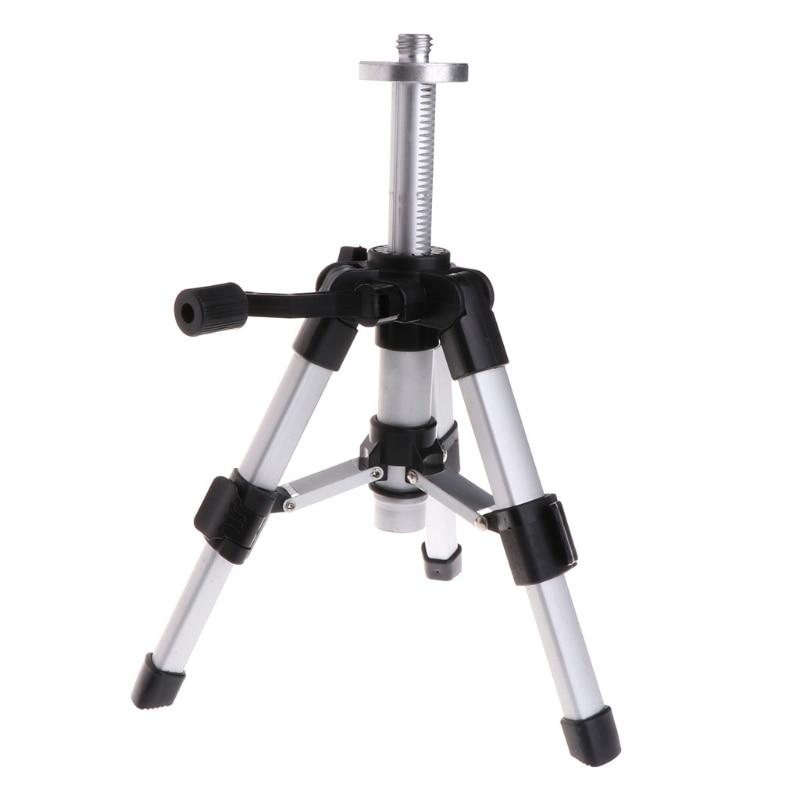 Honig Tragbare Stativ 5/8 Inch Laser Level Mini Stative Aluminium Einstellbare 16-28 Cm #0615 Optische Instrumente